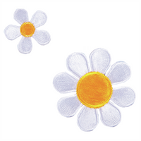 White Daisies Motifs | Craft Factor - Main Image