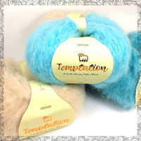 Sirdar Temptation Chunky Mohair Knitting Yarn | Various Shades - Main Image