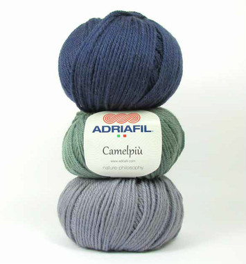 Adriafil Camelpiu Merino and Camel mix DK - various shades