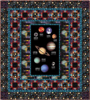 Cosmic Space Quilt 1 | Blank Quilting | Free Downloadable Pattern - The quilt that you could make