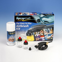 SprayCraft Airbrush Kit