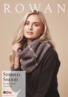 Free Downloadable Pattern for Striped Snood pattern for Rowan Cosy Merino Chunky wool