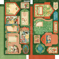 Graphic 45 | Tags & Pockets | Christmas Magic Collection