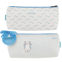 Santoro Felines Collection | A Perrrfect Place | Medium Accessory Case - Main Image