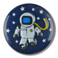 Dill Buttons | Spaceman Button | 15mm