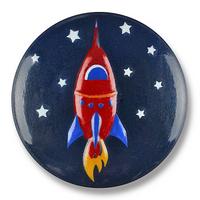 Dill Buttons | Rocket Ship Buttons | 15mm