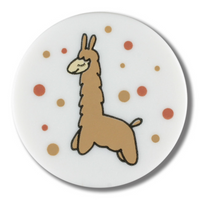 Dill Buttons | Llama Buttons | 15mm