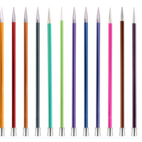 KnitPro | Zing Metal Knitting Needles | Single Point | 35cm