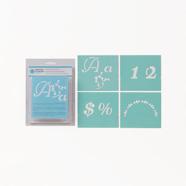 Martha Stewart Crafts | Alphabet Stencil Sets | Various -