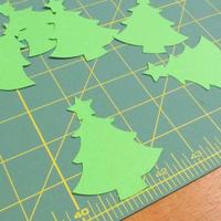 Stix 2 | Diecut Card Shapes | 15pcs | Christmas Tree with Star