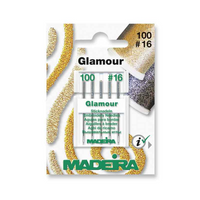 Madeira | Machine Embroidery Needles | Glamour / Decora | Size 100 - No. 16 | 5pcs