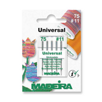 Madeira | Machine Embroidery Needles | Univeral | Size 75 - No. 11 | 5pcs