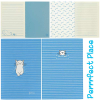 Felines Collection | Purrrfect Place | Small Stitch Notebook with Lined and Plain pages