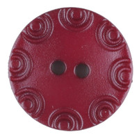 Dill Buttons - Burgundy with little circular edge | 13 mm