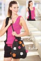 Free Crystal Bag Crochet Pattern | Adriafil Rafia - Main Image