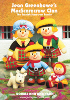 Jean Greenhowes McScarecrow Clan Toy Pattern Book
