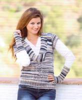 "Slipover / Tank Top ""Botticelli"" Knitting Pattern | Adriafil Knitcol"