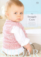 The Snuggly Crew Knitting Pattern Book   Sirdar Snuggly Peekaboo 456