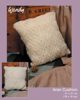 Free Cushion Aran Pattern | Wendy Aran - Main Image