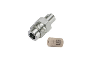 "OPTI-MAX® Outlet Check Valve, 1/16"" Ceramic, PEEK Cartridge, Agilent/HP"