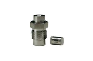 "OPTI-MAX® Inlet Check Valve, 1/16"" Ceramic, SS Cartridge, (Microbore) Bischoff 2200, Anspec SM909, Alcott Micromeritics 760"