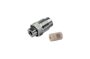 "OPTI-MAX® Inlet Check Valve, 1/16"" Ceramic, PEEK Cartridge, Bischoff, Anspec, Alcott Micromeritics (Microbore)"