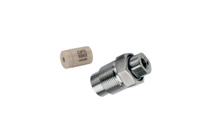 "OPTI-MAX® Outlet Check Valve, 1/16"" Ceramic, PEEK Cartridge, Bischoff, Anspec, Alcott Micromeritics (Microbore)"