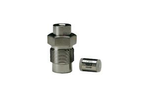 "OPTI-MAX® Inlet Check Valve, 1/8"" Ceramic, SS Cartridge, Bischoff, Anspec, Alcott Micromeritics (Analytical)"