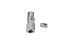"OPTI-MAX® Inlet Check Valve, 1/8"" Ceramic, SS Cartridge, LDC/Milton Roy"