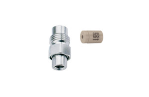 "OPTI-MAX® Inlet Check Valve, 1/16"" Ruby/Sapphire, PEEK Cartridge, Shimadzu, LC-600/LC-9A, LC-10AD, ESA Model 580"