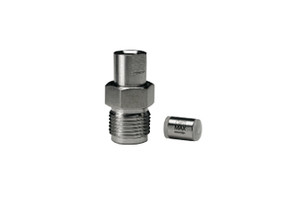 """OPTI-MAX® Inlet Check Valve, 1/8"""" Ruby/Sapphire, SS Cartridge, Shimadzu, LC-600/LC-9A, LC-10AD"""