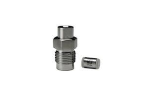 "OPTI-MAX® Inlet Check Valve, 1/8"" Ceramic, SS Cartridge, Varian 2010"