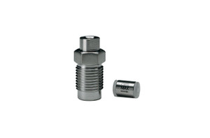 "OPTI-MAX® Outlet Check Valve 1/8"", Ceramic Ball & Seat, SS Cart. Varian ProStar 9000 series, 230 & 240"