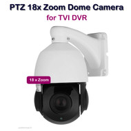 PTZ Dome Camera 18x ZOOM VARIFOCAL 2.4MP