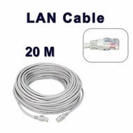 20 M Long Network Ethernet Cable Internet Wire LAN CAT5 Router Quality