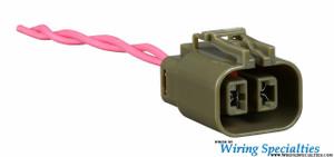 rb20 alternator plug connector wiring specialties rh wiringspecialties com Alternator Wiring Connections rb20 alternator wiring diagram