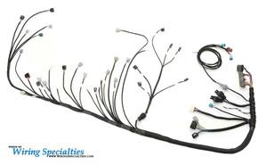 rx7 2jzgte swap wiring harness wiring specialties rh wiringspecialties com Wiring Specialties Label 240SX S13