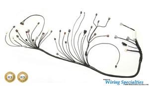 rx7 rb25det swap wiring harness wiring specialties rh wiringspecialties com Wiring Specialties Label Custom Wiring