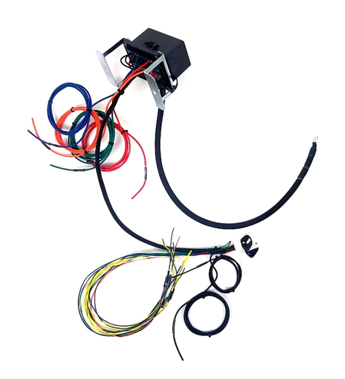 Universal Race Bussmann Interface With Fused Relays Flying Leads 2 Wire Harness Fuses Loading Zoom