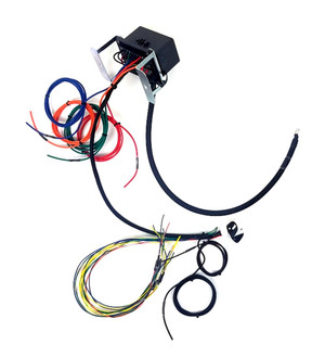 universal race bussmann interface with fused relays flying leads 2 rh wiringspecialties com Wiring Specialties Label wiring specialties 2jz 350z