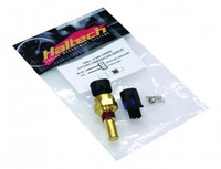 Haltech Coolant Temp Sensor - Small Thread (inc Delphi plug & pins) M12 x 1.5