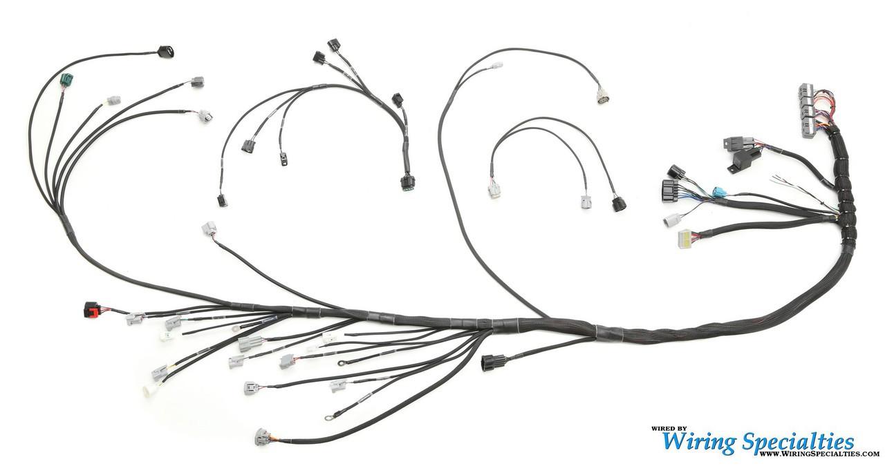 s13 240sx 1jzgte swap wiring harness wiring specialties S13 SR20DET Wiring Harness Lower SR20DET Harness