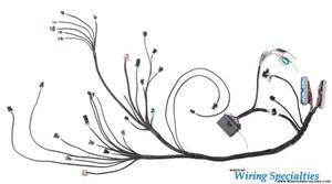 datsun 240z ls1 swap wiring harness wiring specialties rh wiringspecialties com Wiring Harness Connector Plugs Truck Wiring Harness