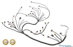 300zx rb26dett swap wiring harness wiring specialties rh wiringspecialties com Wiring Diagram for Sr20 Swap Custom Wiring