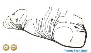 300zx rb25det swap wiring harness wiring specialties rh wiringspecialties com Wiring Specialties Label Custom Wiring