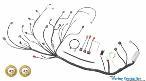 datsun 510 s14 sr20det swap wiring harness wiring specialties rh wiringspecialties com Custom Wiring 240SX Wiring Harness