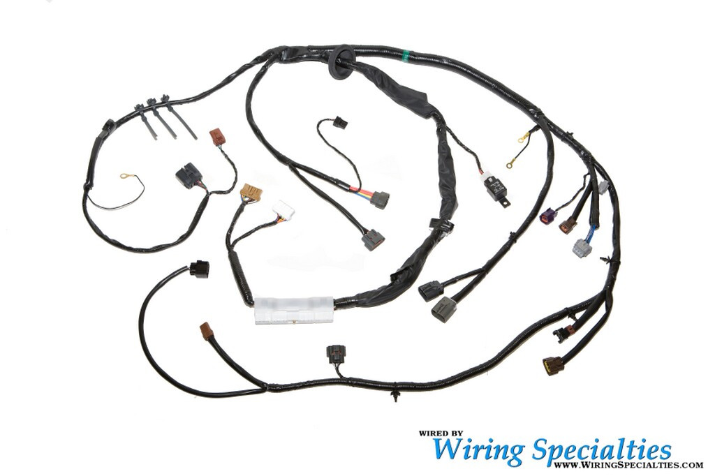 240sx s14 sr20det engine harness wiring specialties. Black Bedroom Furniture Sets. Home Design Ideas