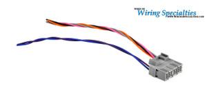 obd1 consult connector wiring specialties rh wiringspecialties com Wiring Specialist Cable Specialties