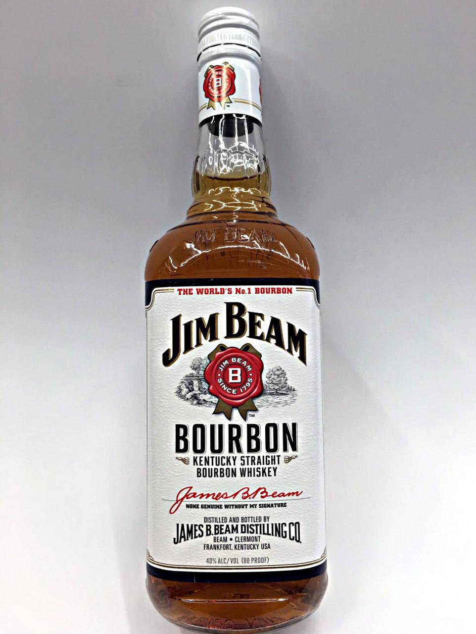 Jim Beam Bourbon Whiskey Quality Liquor Store
