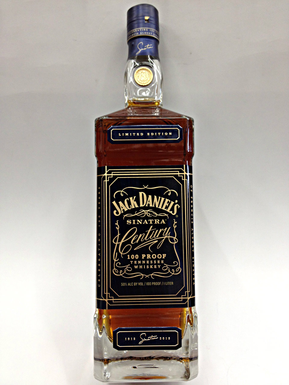 jack daniel 39 s frank sinatra century quality liquor store. Black Bedroom Furniture Sets. Home Design Ideas